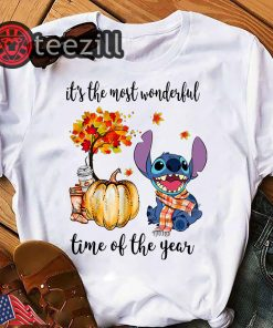 Stitch it's the most wonderful time of the year shirt