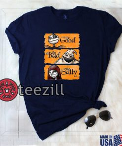 The Good The Bad The Sally - Nightmare Before Christmas Tshirt