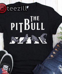 The Pitbull Crossing Abbey Road The Beatles Shirt