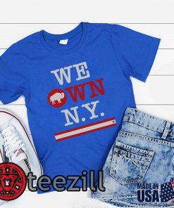 Buffalo Owns N.Y. Shirt - Buffalo Football Tshirt