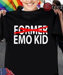 """""""Former Emo Kid"""" Shirt Funny Emo T-Shirt"""