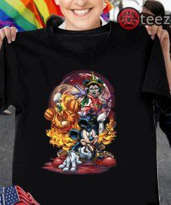 Mickey Mouse Disney Halloween Custume Tshirt
