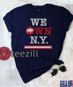 Buffalo Owns N.Y. Shirt - Buffalo Football