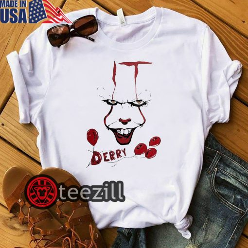 IT Pennywise Derry Halloween Shirt
