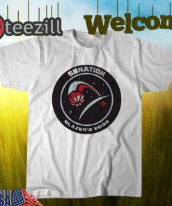 SB Nation's Blazer's Edge Logo Tshirt