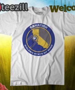 Logo SB Nation's Golden State of Mind Shirt