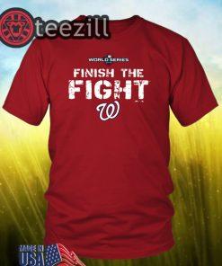 Finish The Fight Washington Nationals T-Shirt