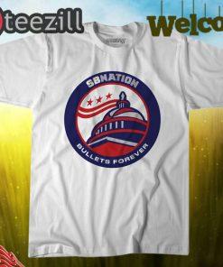 Logo SB Nation's Bullets Forever Shirt