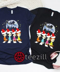 Beatles Crossing Street Christmas Shirt