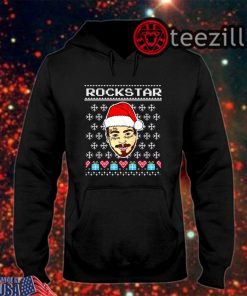 Merry Christmas 2019 Post Malone Rockstar Shirt