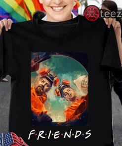 Breaking Bad Friends Tv Show Tshirt