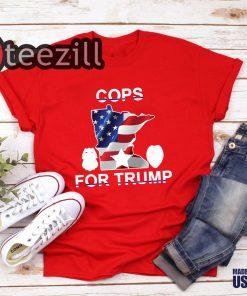 Cops For Donald Trump 2020 Shirts