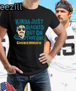 Gardner Minshew Blacked Out Shirts