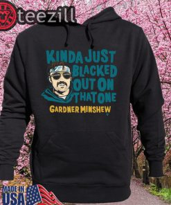 Gardner Minshew Shirt - Blacked Out Officially