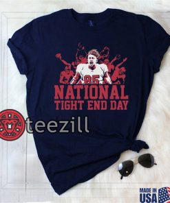 George Kittle National Tight End Day Tee