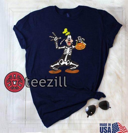 Halloween Goofy Skeleton Shirt