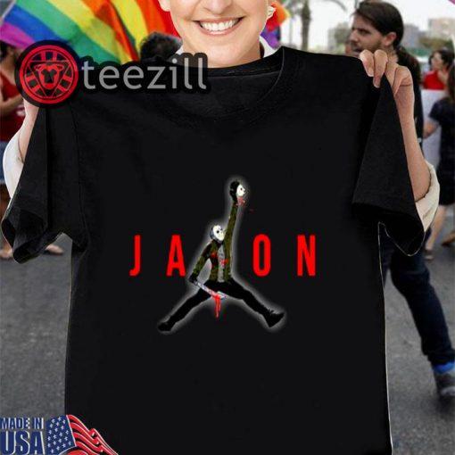 Halloween Jason Voorhees Air Jordan Shirt