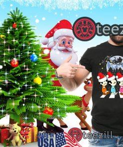 Merry Christmas The Beatles Crossing Street Christmas Shirt Unisex
