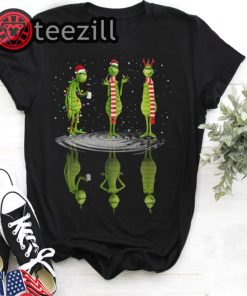 Merry Christmas The Grinch Water Mirror Reflection TShirt