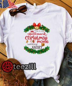 Mery Christmas Hallmark Movie Watching Shirts