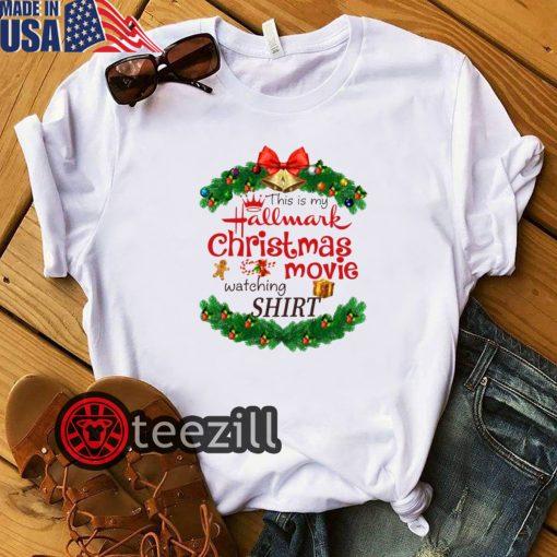 Mery Christmas Hallmark Movie Watching Shirts