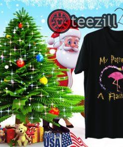 My Patronus Is A Flamingo Christmas Gifts TShirt
