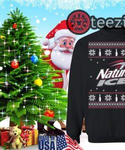 Natural Ice Beer Natural Ice Christmas UglySweater Shirt