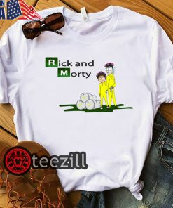Rick and Morty Breaking Bad Shirt