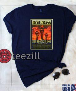San Francisco 49ers Shirt HOT BOYZZ THE BLOCK IS HOT SHIRTS
