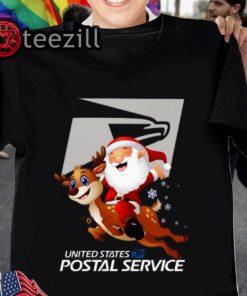 Santa United States Postal Service Tshirts