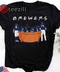 Friends Tv Show Milwaukee Brewers T-Shirt