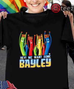 WWE We Want Some Bayley Graphic T-Shirt