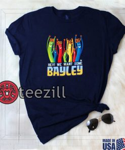 WWE We Want Some Bayley Graphic Shirt