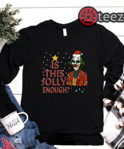 Joker Santa Hat Shirt Merry Christmas 2019 TShirt