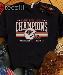 Tank Bowl Champs Shirt - Miami Football