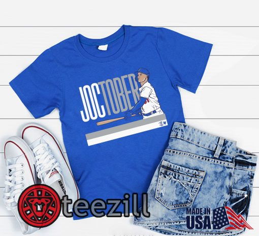 Joc Pederson Shirt - Joctober Los Angeles MLBPA Tshirt