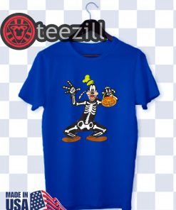 Disney Goofy Skeleton T-Shirt Halloween 2019 Shirt