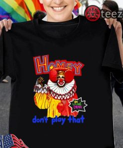 Homey in Living Color Don't Play That Halloween T-Shirt