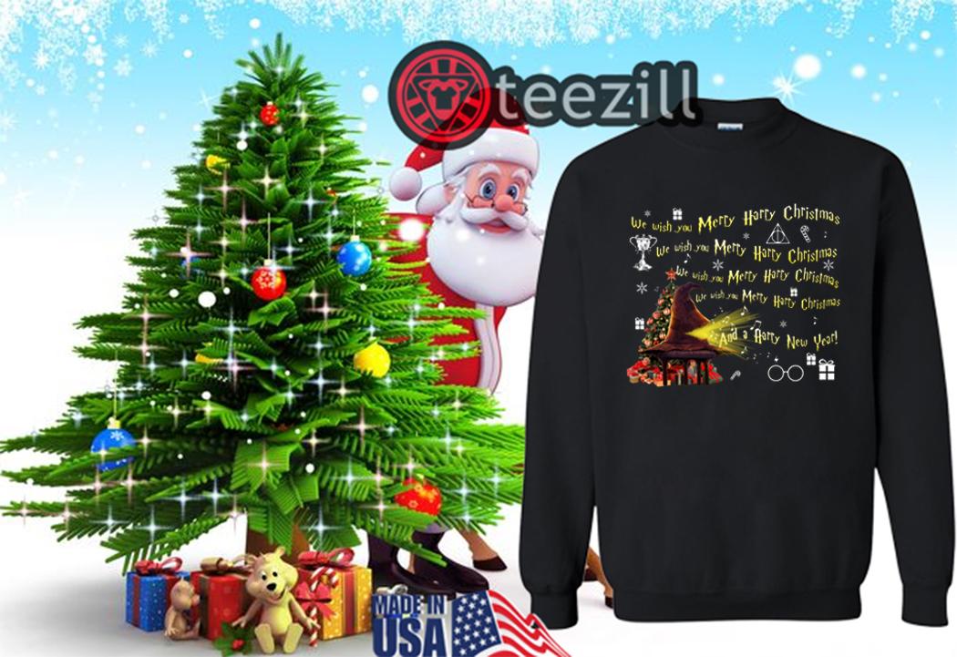 Harry Potter Christmas Shirt.We Wish You Merry Harry Potter Christmas Shirt Teezill