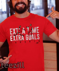 Extra Time Extra Goals T Shirt