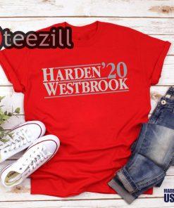 Name Harden Westbrook 2020 Tshirt