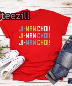 The Ji-Man Choi Shirt Chant Now Immortalized In T-shirts