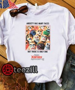 White Anxiety Has Many Faces But There Is Only One Shirt