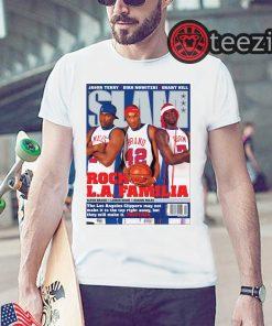 SLAM Cover Tee - Clippers Rock L.A. Familia Shirt