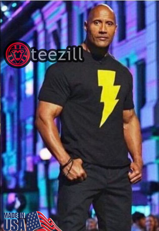 Black Adam Shirt - Dwayne johnson, Mens Tee