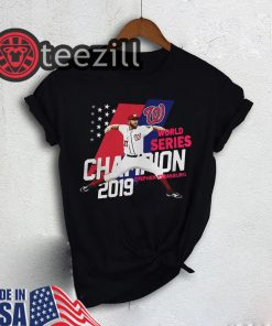 American Strasburg Washington Nationals world series champions 2019 Tshirt