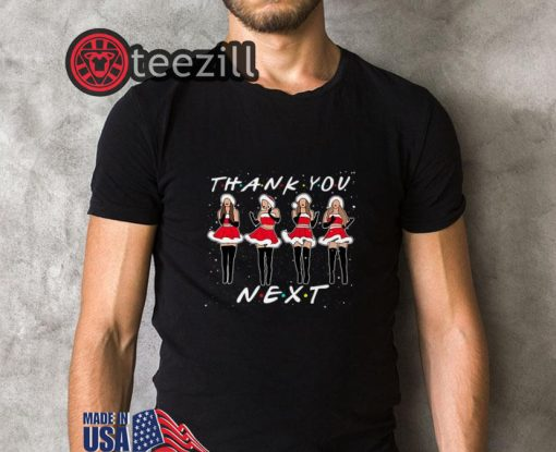 Ariana Grande Thank You Next Friends Shirt