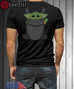 Baby Yoda Carrier Shirts