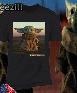 Baby Yoda The Mandalorian Lovely Shirt
