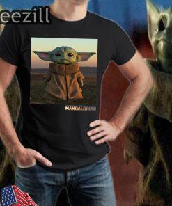 Baby Yoda The Mandalorian Lovely TShirt